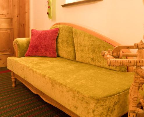 Sofa mit schönen Farben