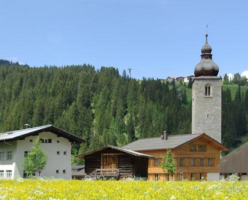 Sommer in Lech