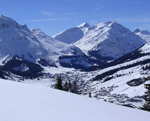 Lech und mehr im Winter
